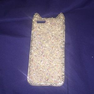 iPhone glittery phone case